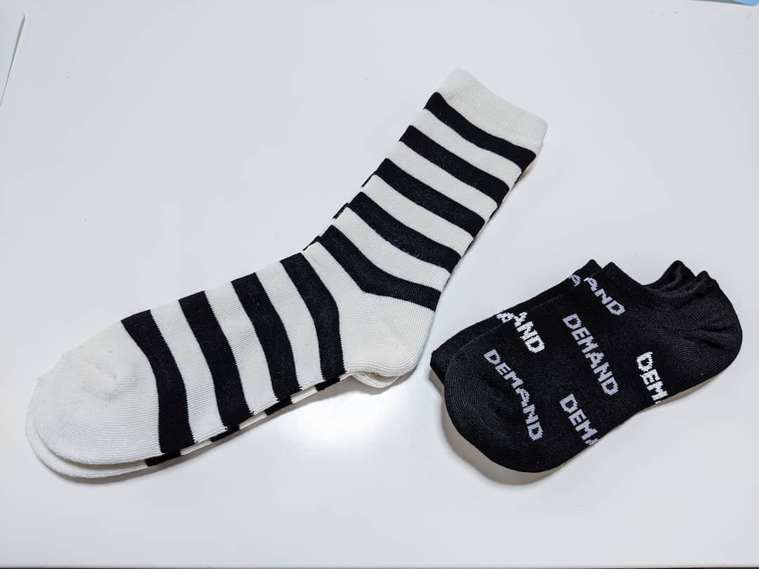 【ダイソー】普段使いしやすい靴下