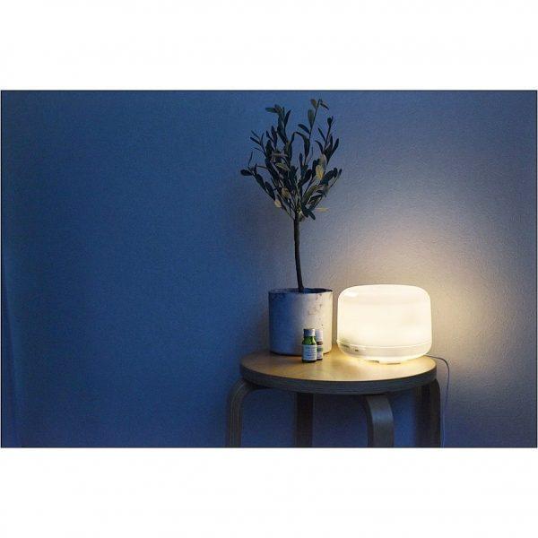 ライト代わりとしても便利なディフューザー