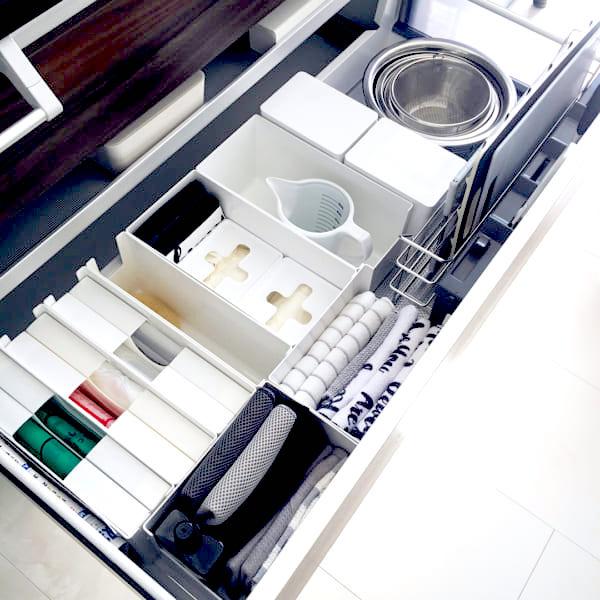 キッチン用品の収納2