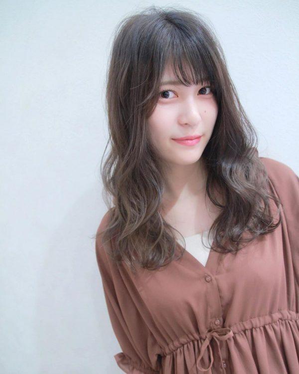 30代におすすめ♡ロング×パーマ(暗めカラー)3