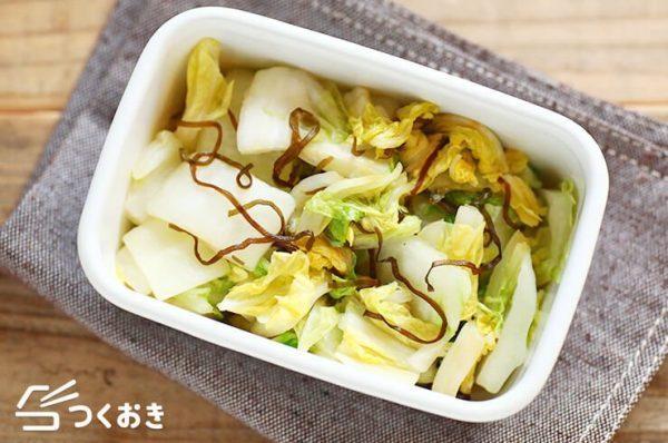 和風なレシピに!美味しい白菜の即席漬け