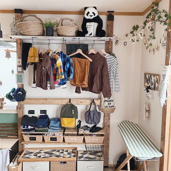 ディアウォールの子供部屋DIY活用アイデア4
