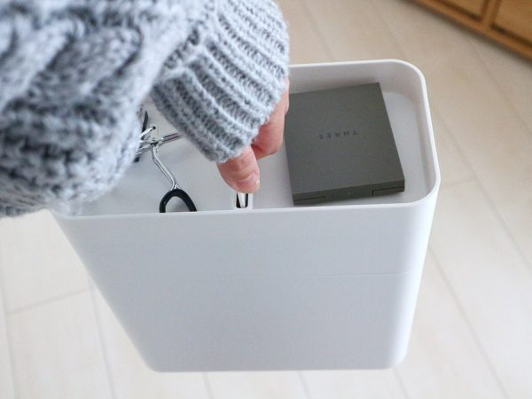 シンプル&スマートなメイクボックス