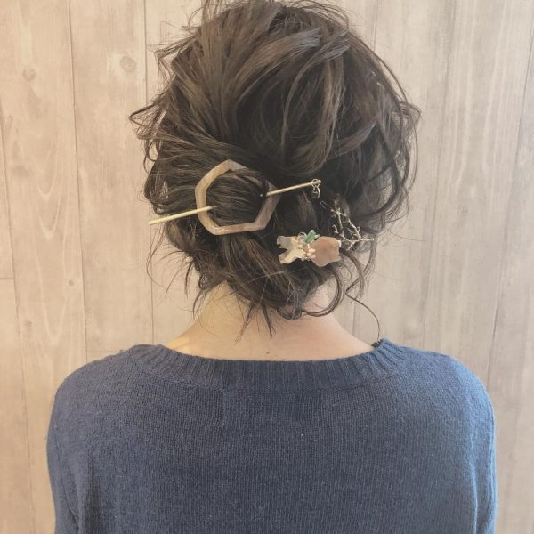 マジェステ使用のデート向けロングの髪型
