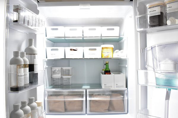 冷蔵庫の食材は管理しやすく収納する
