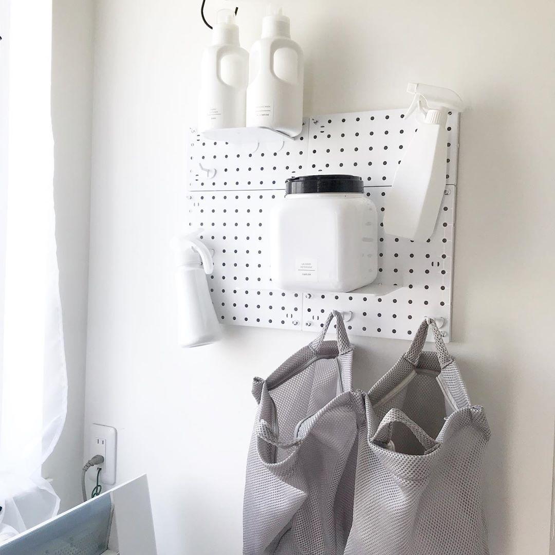 洗濯グッズをおしゃれに収納