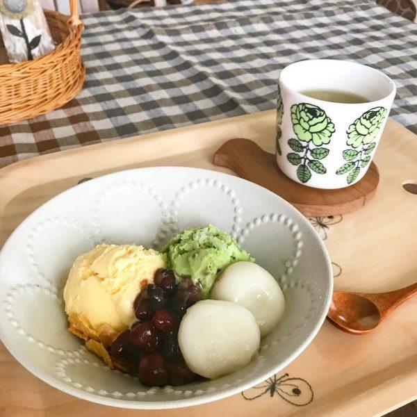 おうちスイーツ 白玉 和風パフェ