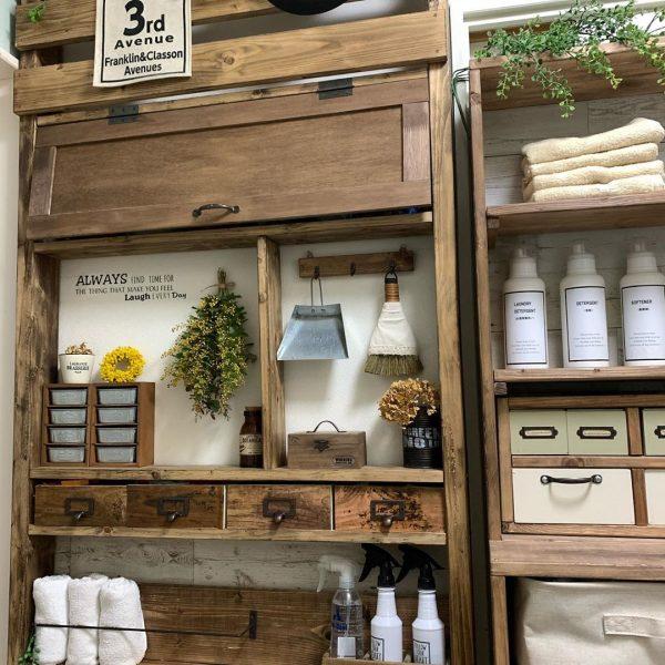 ディアウォールの洗面所DIY活用アイデア5