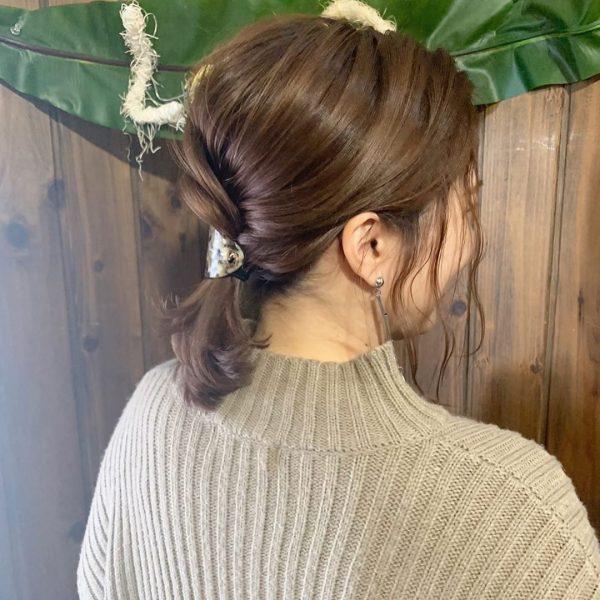 30代に似合うショートのヘアアレンジ4