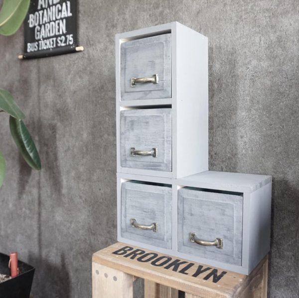 Ý tưởng tự làm hộp gỗ phổ biến ☆ Ngăn kéo