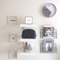 【ダイソーetc.】おうちの壁が収納スペースに!ワイヤーネットの活用アイデア