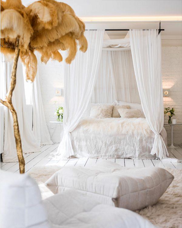 素敵な寝室