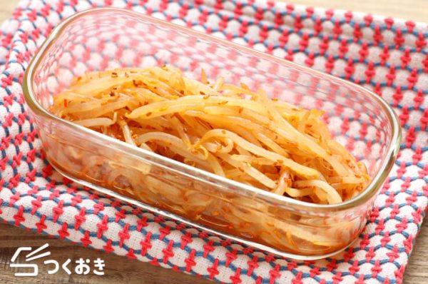 もやしで簡単な人気のおかずレシピ☆副菜6