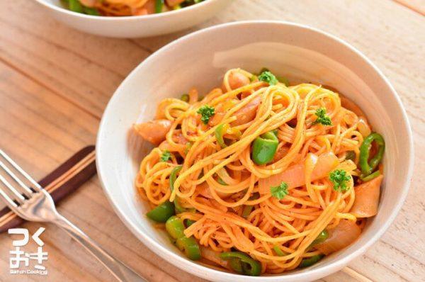 お弁当にパスタの簡単人気レシピ☆トマト系8