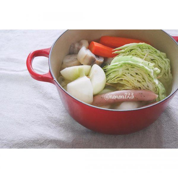 野菜たっぷりポトフ