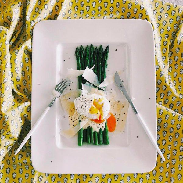 グリーンアスパラのサラダ