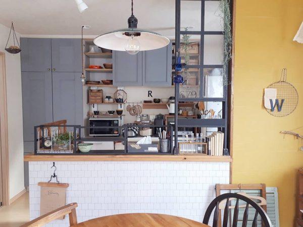 ディアウォールのキッチンDIY活用アイデア2