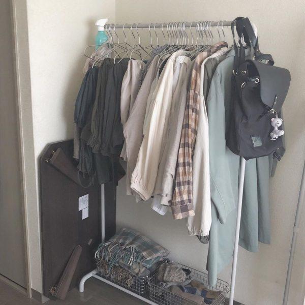 シンプルな一人暮らし部屋3