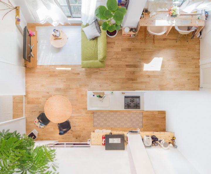 「二人暮らし&お子さんと暮らすお部屋」の家具配置事例4