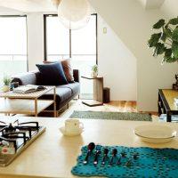 一人暮らしでもベッドとソファをあきらめない!スペースを有効に使うレイアウトアイデア