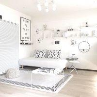 白を基調としたインテリア実例集!洗練されたおしゃれな部屋を大公開♪