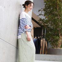 おしゃれで楽な「ロングスカート」特集☆大人女子のおすすめ春コーデ