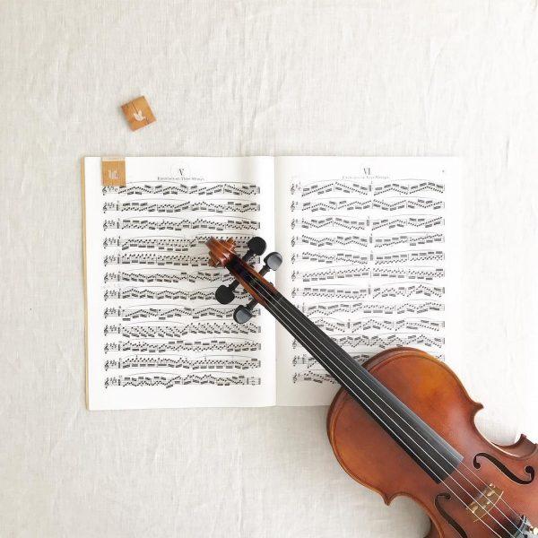 ⑤音楽を奏でる