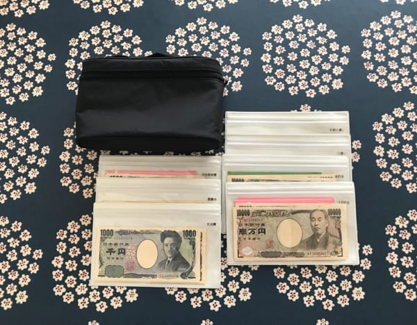 お金の収納