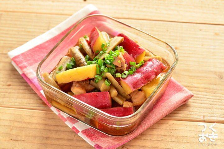 お弁当のレシピに!根菜と鶏肉の甘辛煮