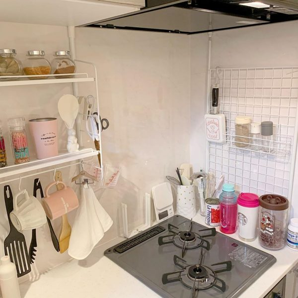 キッチンは機能的にまとめる