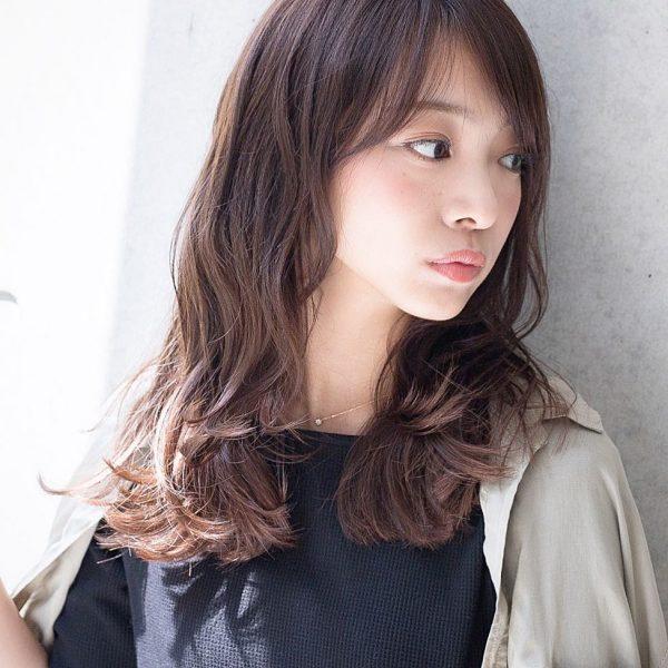 30代におすすめ♡ロング×パーマ(暗めカラー)4