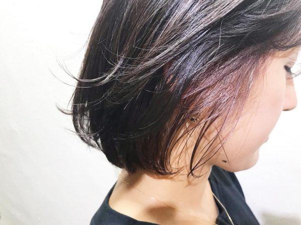 夏カラー×ショートヘアカタログ×デザインカラー6