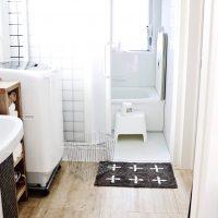 バスルームをもっとオシャレに!清潔感溢れるシンプルインテリア実例10選