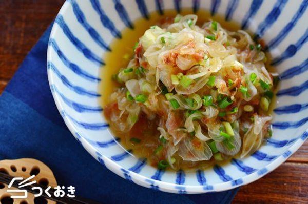 和食に合うレシピ!玉ねぎのポン酢おかか和え