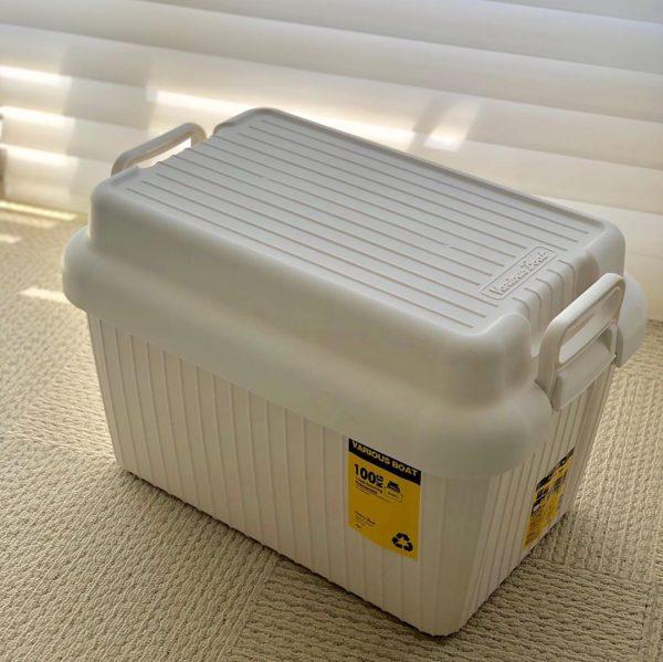 「手持ち付きボックス」でスッキリ収納2