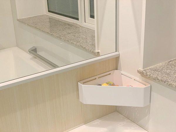 洗面所の収納アイデア15