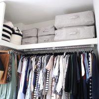 毎日使う衣類収納がすっきりすればノンストレス!衣類収納のおすすめをご紹介