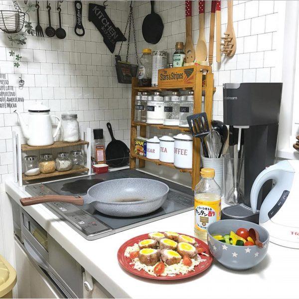 Dễ dàng và được khuyến nghị ☆ Giá treo mini kiểu quán cà phê tự làm