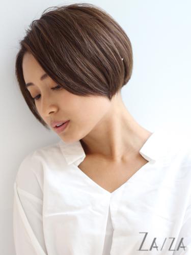 50代の着物に似合う髪型《ショート》3
