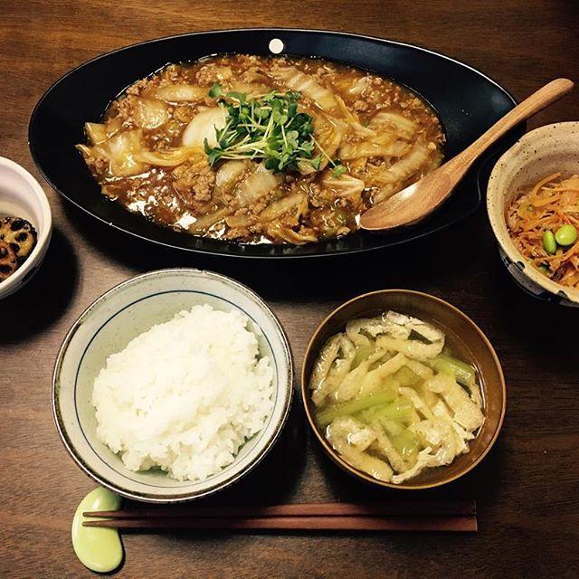 大量消費できる美味しい料理!簡単な麻婆白菜