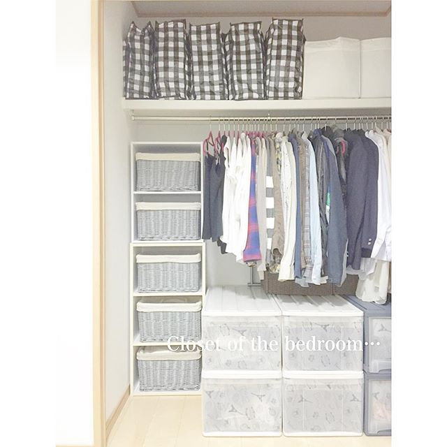 カラーボックスを有効活用した服収納アイデア