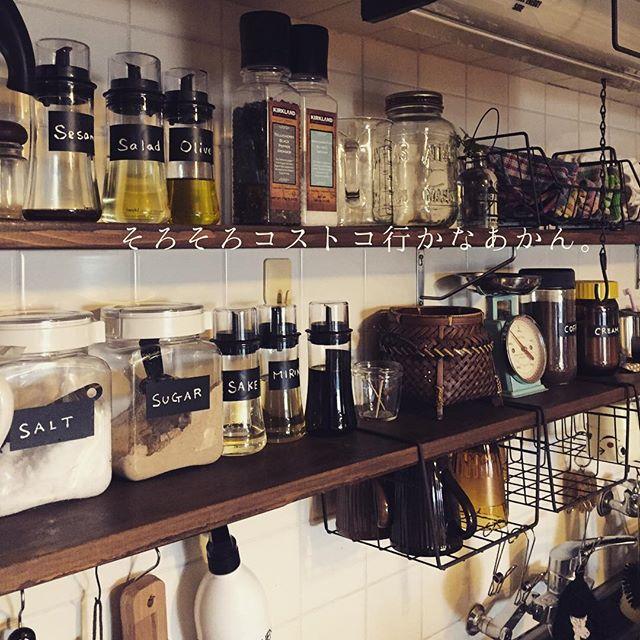 オイルボトル キッチンインテリア6