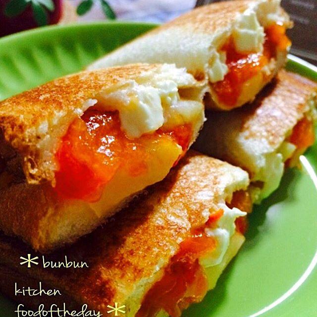 柿の人気レシピ☆簡単アレンジ《パン》2