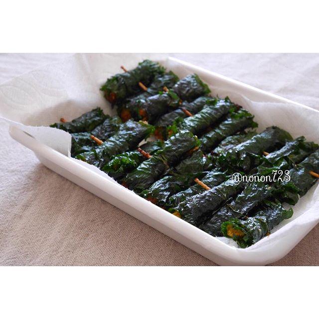 大葉で人気の大量消費レシピ☆副菜2