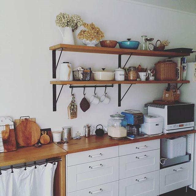 キッチン家電の収納アイデア12