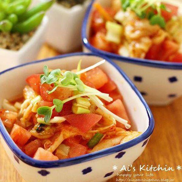 キムチの大量消費☆人気レシピ《おつまみ》5