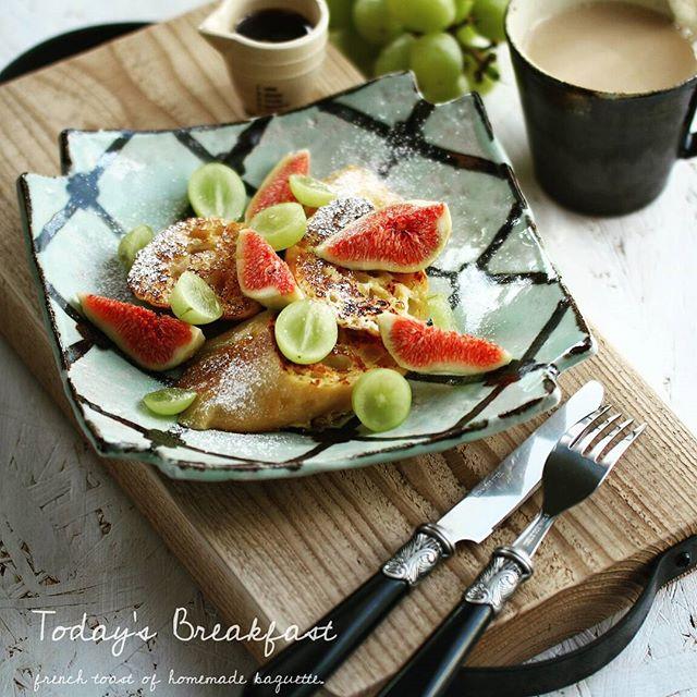 マスカットで人気の簡単なレシピ☆朝食4