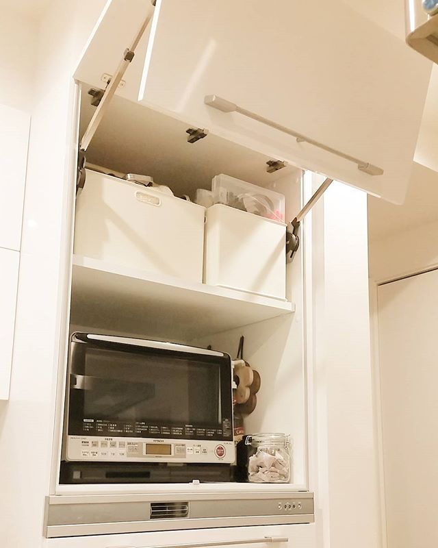 キッチン家電の収納アイデア2