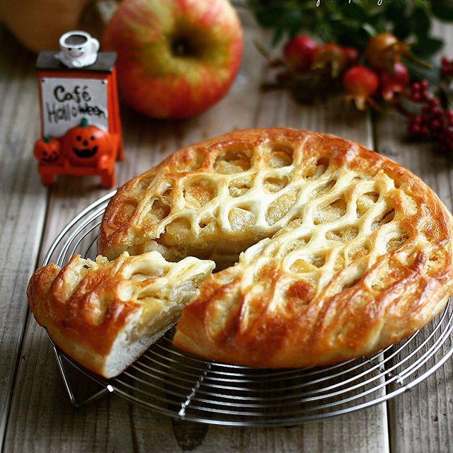 大量消費できるデザート!アップルパンパイ