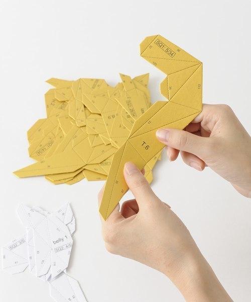 [IDEA SEVENTH SENSE] Papertrophy Squirrel